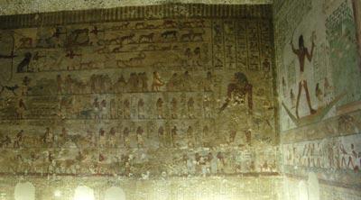 Khnumhotep iii for Beni hasan mural