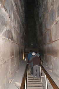 Egyptian Journey 2003 Photos Giza Inside The Great Pyramid